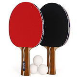 Deportes Y Fitness Duplex 6 Star Ping Pong Paddle Juego De
