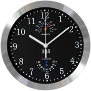 Moderno Y Silencioso Reloj De Pared Sin Tictac 10 Pulga...