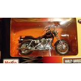 Moto Harley Davidson Maisto 1:18 9 Modelos Luigi1910