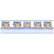 Faixa Decorativa - Quarto - 1m X 20cm - Urso Dormindo