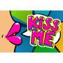 Poster Pop Art Love Kiss/ 13 Opciones -promo 60x90 Cm