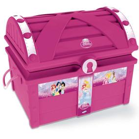 Baú Para Guardar Brinquedo Princesas Disney - Xalingo