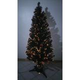 Arbol De Navidad Con Luces Led De Fibra Optica