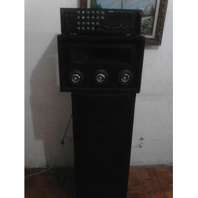 Combo Amplificador Sony 2500wtos Cajon Con Bqjos Y Tuister