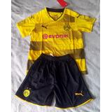 Conjunto Infantil Borussia Dortmund 17-18 Original 5 A 12