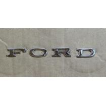 Emblema Ford Pequeno Maverick Galaxie Landau Corcel Metal