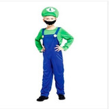 Fantasia Infantil Menino Luigi Mario Bros Arrase Na Festa