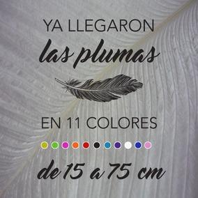 Plumas De Avestruz Blondines De 35 A 44 Cm, En 11 Colores.