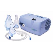 Nebulizador A Piston Piuvento C/ Aspirador Nasal Gtia 2 Años