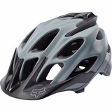 Capacete Fox Flux Grey Ciclismo Bike Mtb S / M 54-58cm 2017