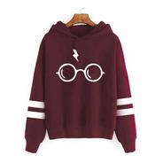 Buzo Harry Potter Anteojos Aesthetic Kawaii Canguro