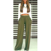 Pantalones Palazo Bota Ancha Diseñosextrem2013