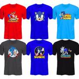 Remeras Sonic The Edgehog Sega Genesis *mr Korneforos*