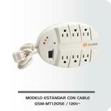 Regleta Electrica Exceline Con Cable
