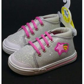 Zapatos Para Niña Talla 11-17 Zapatillas Diamantina Cool