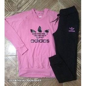 Conjunto Deportivo adidas Y Nike Para Damas Sueter Y Mono