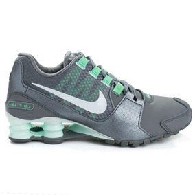 Tênis Feminino Nike Shox Avenue Se - Cinza/verde