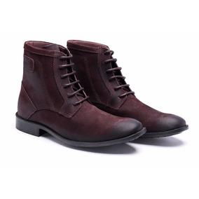 Sapato Bota Douglas Soares Footwear Masculina Casual Couro M