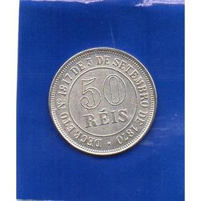 Moeda 50 Reis 1871 Replica