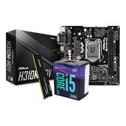 Combo Actualización, Intel I5 8400 8va Mother H310, Ddr4 4gb