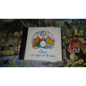 Cd Queen A Nigth At The Opera Original Ano 1989 Raro