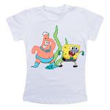 Camiseta Infantil Personalizada - Bob Esponja Patrick