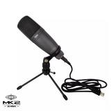 Novik Fnk-02u Micrófono Condenser Usb Para Estudio + Soporte