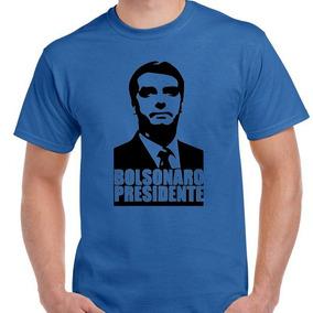 Camisa Blusa Jair Bolsonaro Presidente 2018 Marinho