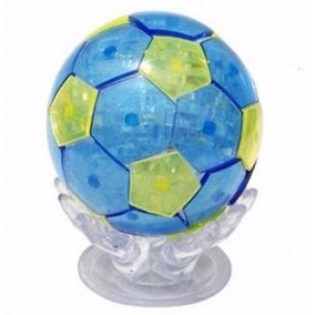 Rompecabezas 3d Cristalino, Pelota De Futbol