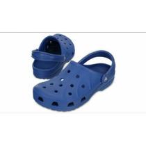 Crocs Para Niño 100% Original, Azul Marino Y Azul Claro