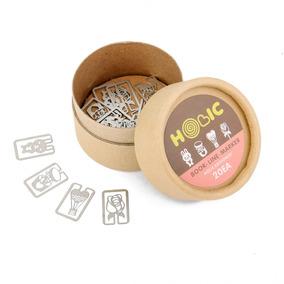 20pcs/box 4 Estilos De Metal Marcadores Tienda De Regalos Co