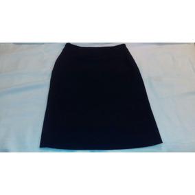 Falda De Vestir Talla Chica 6 Azul Marino