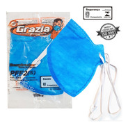 Kit 10 Mascaras 4 Camadas N95  Elástico Ajustável Iso9001