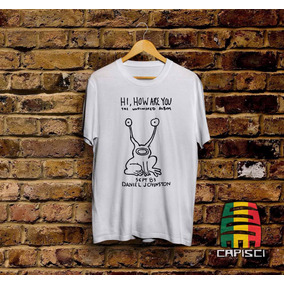 Remeras Kurt Cobain Daniel Johnston (nirvana) Capisci.