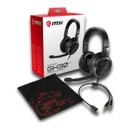 Auriculares Gamer Msi Immerse Gh30 V2 Gaming Headset Pc Ps4
