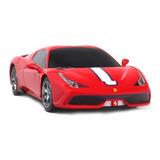 Carrinho Controle Remoto Replica Ferrari Vermelha Listrada