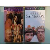 Sebastian Y Satyricon 2 Vhs De Cine De Arte Importadas