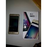 Vendo Celular Blu Nuevo Neo X Sin Dual Liberado Color Dorado