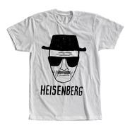 Camiseta Heisenberg Breaking Bad Masculina E Feminina