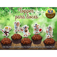 50 Toppers Tags Para Doces Booba