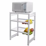 Mesa Para Tv/rack/microondas Com Tampo Madeira
