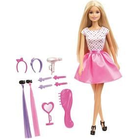 Barbie Con Accesorios De Cabello