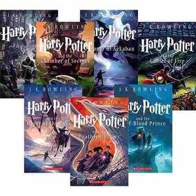 Livros Harry Potter Coleção Completa Do 1 Ao 7 - J.k Rowling
