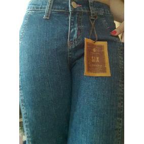 Blue Jean Semi Strech Six Jeans Talla 5/6 Zona Chacao