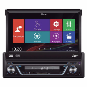 Dvd Automotivo Leadership Tela Touch 7 Retratil 5975 Am/fm/u