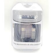 Cable Hdmi V2.0 4k Ultra Hd 18gbps 3.0mt Njoytech