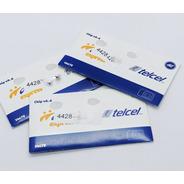 Chip Telcel V.6.4 Amigo Express 4g Querétaro 442 C/saldo