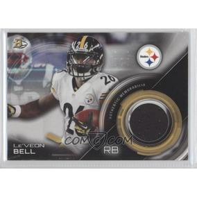 Le´veon Bell Tarjeta C Jrsey Steelers Bowman Relic 2015 Ys