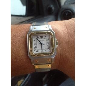 fc33b5ed347 Relógio Cartier Santos Galbee Original