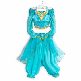 Disfraz Princesa Jazmin Aladino Disney Store Original Usa